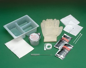 Tracheostomy Clean & Care Trays w/ Peroxide and Saline