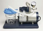 Vac-Assist Suction Aspirator, 800cc Canister Suction Machine