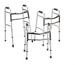 Two-Button Folding Walker, Junior (Case of 4)