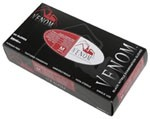 Venom Powder-Free Black Nitrile Exam Gloves (10 boxes)